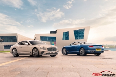 Bentley Continental GT Mulliner Coupe ra mắt, đỉnh cao của sự sang trọng
