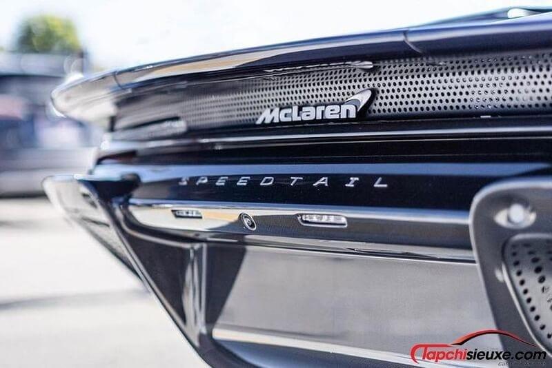 Ngắm siêu phẩm khoác hàng hiệu McLaren Speedtail Hermès của trùm bất động sản Manny Khoshbin